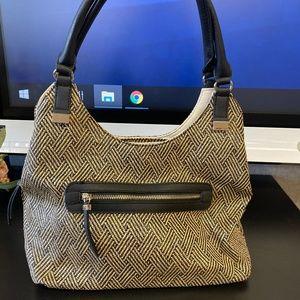 Apt 9 New!  Weaved Pattern Shoulder Bag